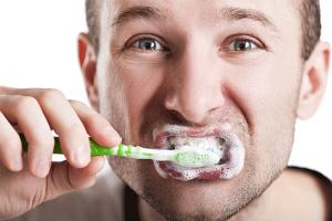 歯磨きしすぎ
