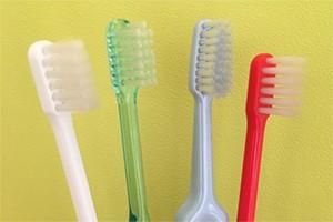 柔らかめの歯ブラシがお勧め